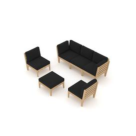 image-Ardavan 6 Seater Sofa Set Sol 72 Outdoor
