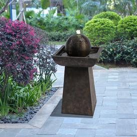 image-Hong Resin Floor Fountain with LED Light Sol 72 Outdoor