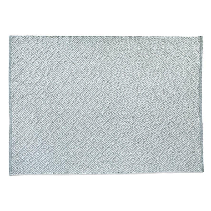 image-Diamond Reversible Rug 120 x 170cm, Gray