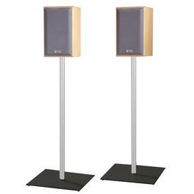 image-Speaker Stand (Set of 2) Metro Lane Farbe (Bodenplatte): Black, Size: 107cm H x 26cm W x 26cm D