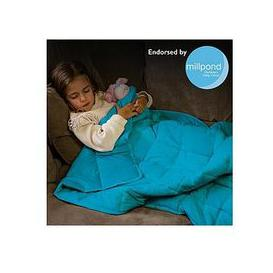 image-Rest Easy Sleep Better Weighted Blanket In Teal &Ndash 3 Kg &Ndash 90 X 120 Cm