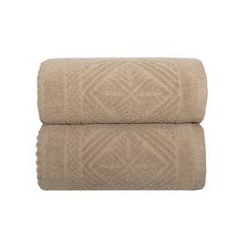 image-Valmonte 3 Piece Towel Bale Corrigan Studio Colour: Savannah
