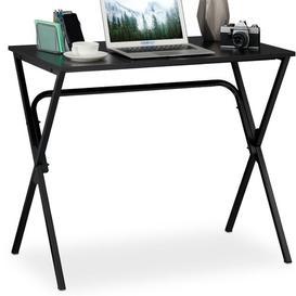 image-Basic Schimmel Writing Desk Symple Stuff Tabletop/Frame colour: Black