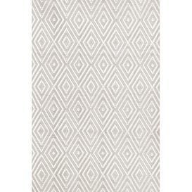 image-Diamond White Indoor/Outdoor Area Rug Dash & Albert Europe Rug Size: Rectangle 122 x 183cm