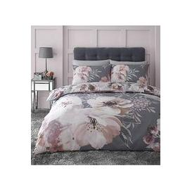 image-Catherine Lansfield Dramatic Floral Duvet Cover Set
