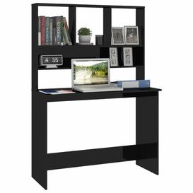 image-Frogertha Executive Desk Ebern Designs Colour: High Gloss Black