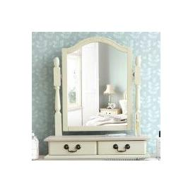 image-Lemaire Arched Dressing Table Mirror Fleur De Lis Living Colour: Champagne