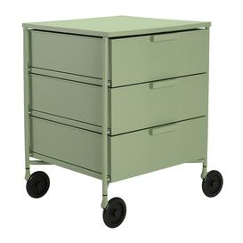 image-Kartell - Mobil Mat 3 Drawer Wheels - Pale Green