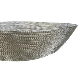 image-Dunnigan Decorative Bowl Latitude Run Colour: Silver