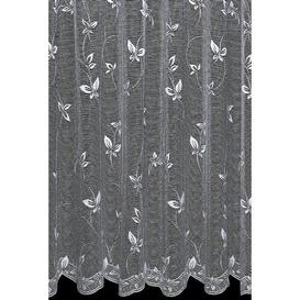image-Anabella Papillon Slot Top Sheer Curtain Marlow Home Co. Panel Size: Width 150 x Drop 122cm