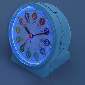 image-Analog Quartz Alarm Tabletop Clock Cander Berlin Colour: Blue