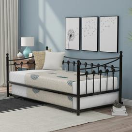 image-Winebrenner Single (3') Steel Daybed with Trundle