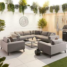 image-Thorkil 8 Seater Corner Sofa Set Sol 72 Outdoor