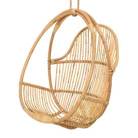 image-A by AMARA - Outdoor Rattan Hanging Chair - Natural