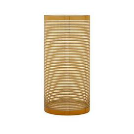 image-Premier Housewares Raya Cylinder Stripe Vase