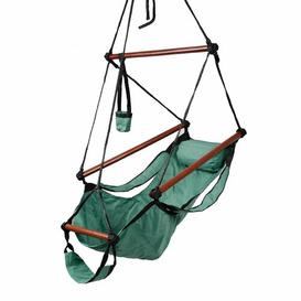 image-Kwak Hanging Chair Sol 72 Outdoor Colour: Green
