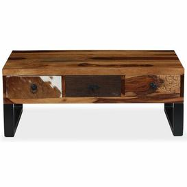 image-Moberly Coffee Table with Storage Williston Forge