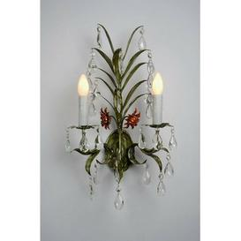 image-Toleware 2-Light Candle Wall Light Astoria Grand