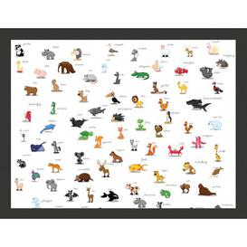 image-Animals for Children 2.31m x 300cm Wallpaper East Urban Home