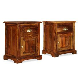image-Dominic 1 Drawer Bedside Table Union Rustic