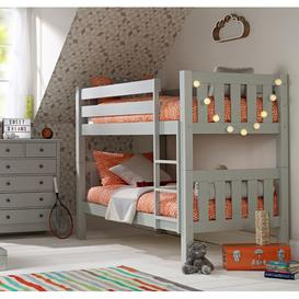 image-Jubilee Chunky Bunk Bed in Soft Grey