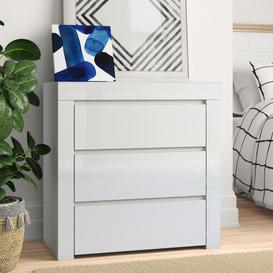 image-Wendy 3 Drawer Chest Zipcode Design