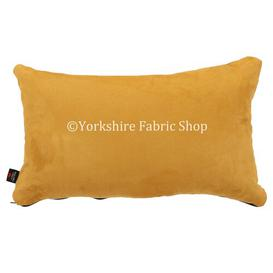 image-Grenada Cushion with Filling Yorkshire Fabric Shop Colour: Gold