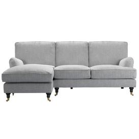 image-Bluebell LHF Chaise Sofa in Goodwin Grey Sandgate