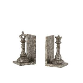 image-Chess Piece Poly Bookends Ophelia & Co.