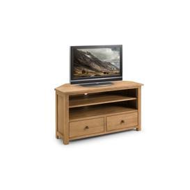 image-Coxmoor Oak Corner TV Unit