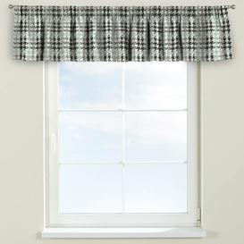 image-Brooklyn Curtain Pelmet Dekoria Size: 260cm W x 40cm L, Colour: Green / Black