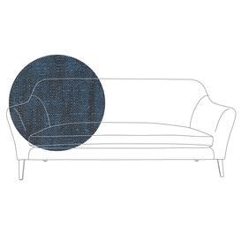 image-Heal's Wallis 4 Seater Sofa Broad Weave Lagoon Natural Feet