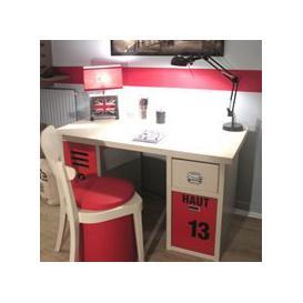 image-Mathy by Bols Kids Bedroom Desk in New Worker Design - Mathy Summer Pink