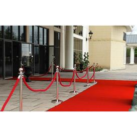 image-Red Carpet Runner Wedding Party Event - Cut to Measure