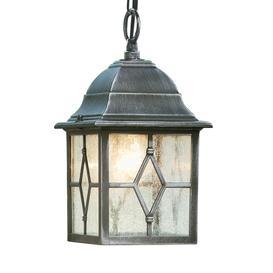 image-Searchlight 1641 Genoa Outdoor Hanging Porch Lantern In Aluminium