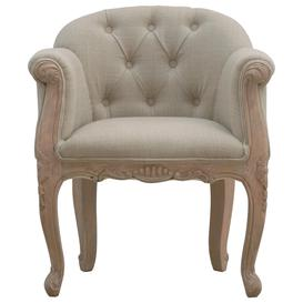 image-French Style Deep Button Chair
