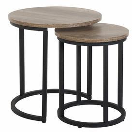 image-Wooburn 2 Piece Nest Of Tables Brayden Studio