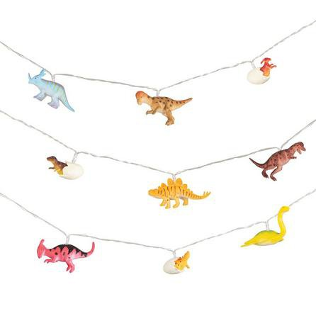 image-Roar Dinosaur String Lights MultiColoured