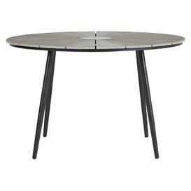 image-Hoch Aluminium and Plastic Dining Table Sol 72 Outdoor