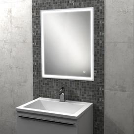 image-Vanquish Recessed Mirror Cabinet with Lighting