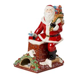 image-Villeroy & Boch - Christmas Toy's Memory Santa On Rooftop Ornament