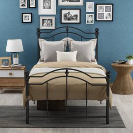 image-Odele Bed Frame Marlow Home Co. Size: Single (3')