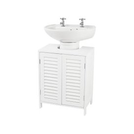 image-Tuscany Bathroom Vanity Unit White