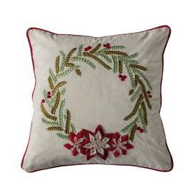 image-Fermont Wreath Natural Cushion