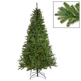 image-French 7ft Green Pine Artificial Christmas Tree Goodwill