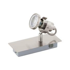 image-Eglo 94144 Tukon 3 One Light Wall Spotlight In Satin Nickel