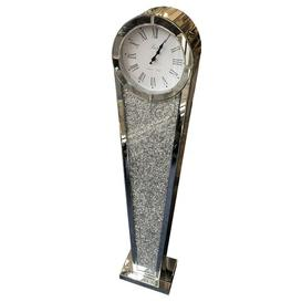 image-Arachne Crushed Diamante Jewel 143cm Grandfather Clock Rosdorf Park