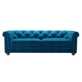 image-Patrick 3 Seat Sofabed in Scuba Smart Velvet