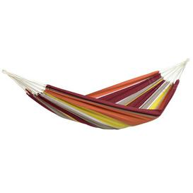 image-Copeland Hammock Freeport Park Colour: Orange/Yellow, Size: 1cm H x 150cm W x 340cm D