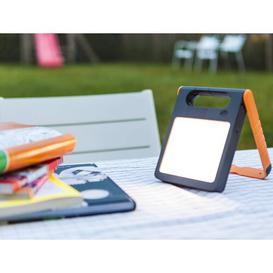 image-Ivarr 18cm Solar Powered Integrated LED Work Light Sol 72 Outdoor Colour: Orange/Black